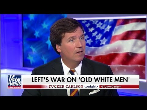 Tucker Carlson Laments The 'Race Hatred' Towards 'Old White Men' During Kavanaugh Hearing