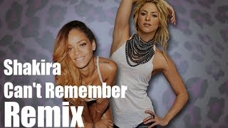 shakira can t remember to forget you feat rihanna remix dj luay faur