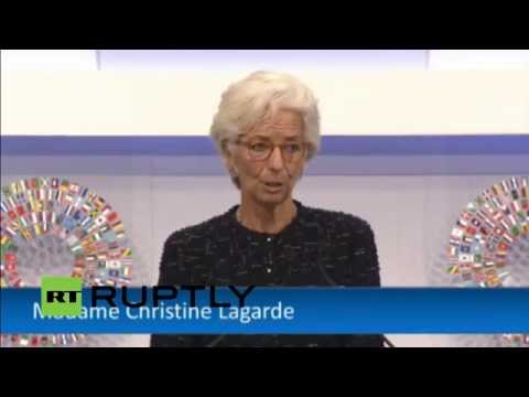 LIVE: Jim Yong Kim and Lagarde address 2015 Annual Meetings plenary