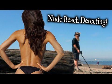 Nude Beach Metal Detecting! (Wreck Beach)