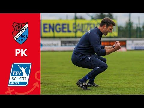 PK nach dem Heimsieg gegen den TSV Schott Mainz