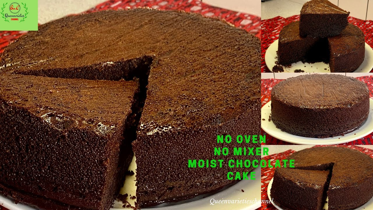 Download NIGERIAN CHOCOLATE CAKE WITHOUT OVEN/NO MIXER/NIGERIAN CAKE RECIPE (WEDDING/BIRTHDAY STEP BY STEP)