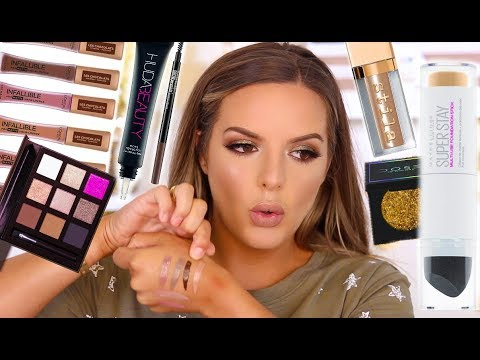 SUPER CHATTY GET READY WITH ME! NEW PRODUCTS & LIFE TALK   Casey Holmes