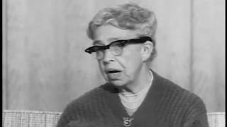 Eleanor Roosevelt interview on FDR's Legacy (1959)