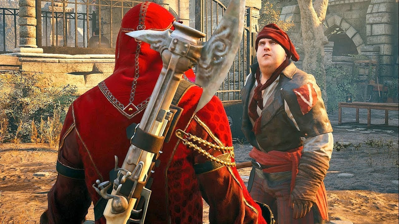 Assassin's Creed Unity Ancient History with Legendary Arno ...