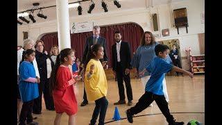 Mayor de Blasio Announces Universal Physical Education Initiative