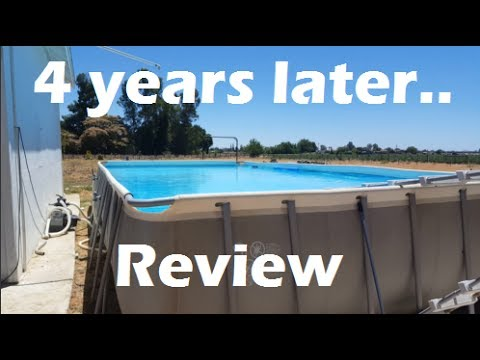 Best Affordable Backyard Pool - Intex 16x32x52 Pool