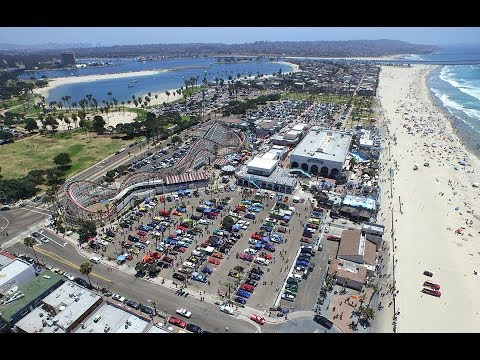 Cruise To Belmont Park Mission Beach San Diego 2017 Youtube