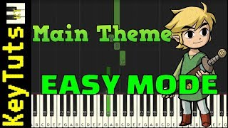 Learn to Play Main Theme from Legend of Zelda - Easy Mode