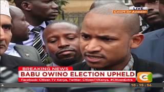 Babu Owino Election upheld #Citizen Extra