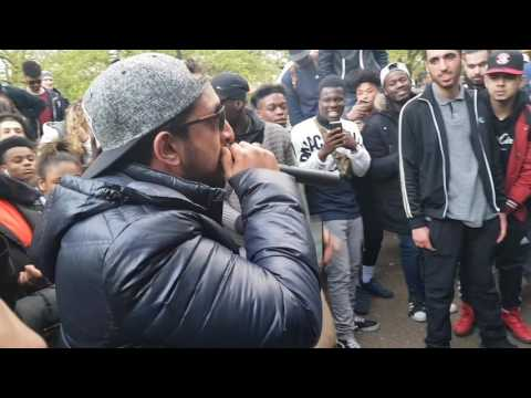 Grime Hip Hop / Freestyle Neezo Hyde Park London - Political rap - Instrumental
