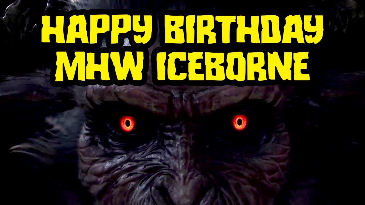Happy Birthday Monster Hunter World Iceborne! thumbnail