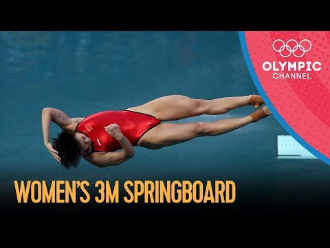 Rio Replay: Women's 3m Springboard Diving Final