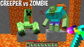 Which MUTANT will be SAVED ZOMBIE MUTANT or CREEPER MUTANT in Minecraft ???