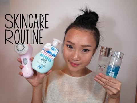 Updated Nighttime Skincare Routine ♥ with Demo