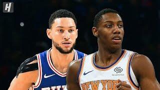 New York Knicks vs Philadelphia 76ers - Full Highlights   November 20, 2019   2019-20 NBA Season