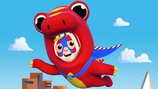 Children Music🎤 Super Hero SPIDERMAN AVENGERS Song For Kids  🎷One Zeez Nursery Rhymes