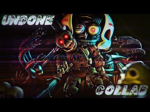 """[SFM/FNAF] - """"Undone"""" - Collab - Song by Desmeon"""