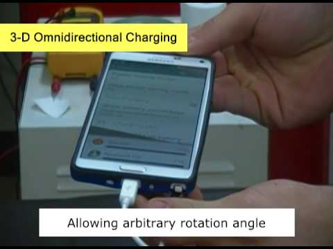 KAIST Omnidirectional Wireless Smartphone Charger at 1m