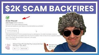 $2K Scam Backfired - I Spent All The Gift Cards