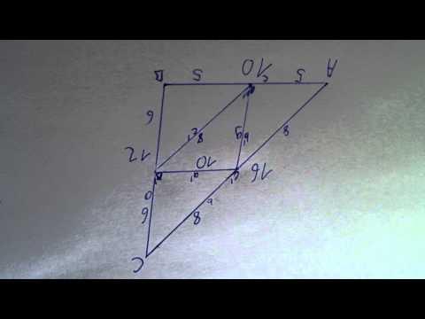 seitenmittendreieck berechnen trigonometrie pythagoras. Black Bedroom Furniture Sets. Home Design Ideas