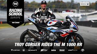 ///M 1000 RR | Demo laps Troy Corser 🐊  | HockenheimRing