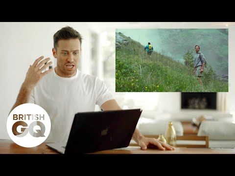 Armie Hammer guides us through the Call Me By Your Name waterfall scene | British GQ