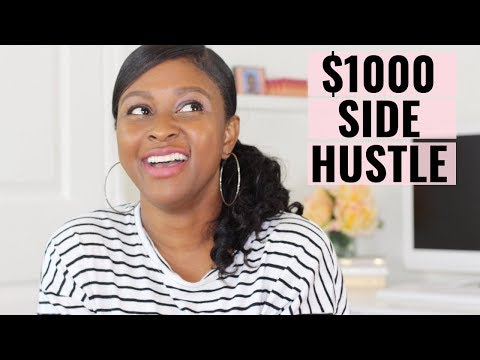 Ways to Make an Extra $1,000 a Month | Easy Side Hustles | How to Make 1000 a Month