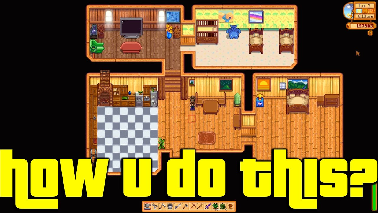 House design stardew valley - How To Take A Screenshot Of Your Stardew Valley Farmhouse
