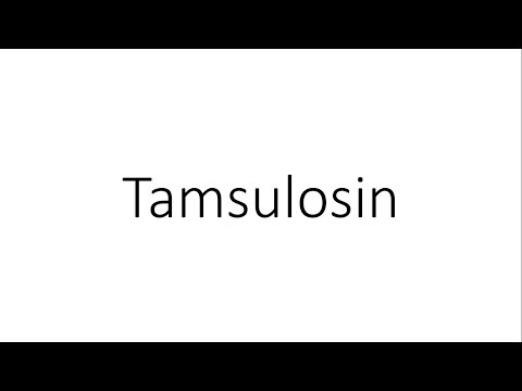 Tamsulosin - Pharmacology