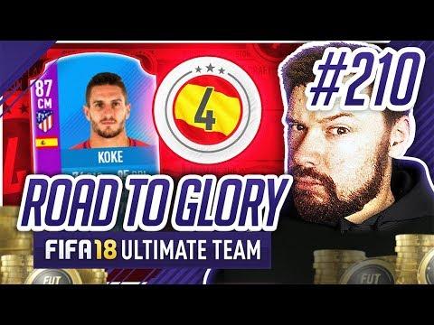 FUT SWAP KOKE! - #FIFA18 Road to Glory! #210 Ultimate Team