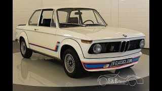 BMW 2002 Turbo 1974-VIDEO- www.ERclassics.com