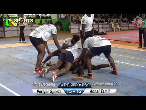 Deciding | Periyar Sports Vs Annai Tamil | South India Level Kabaddi @ Payalamkottai, Nellai - 2020
