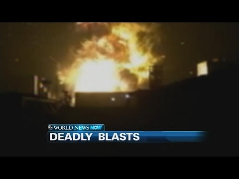 Massive Explosions Claim Dozens of Lives in China | ABC News