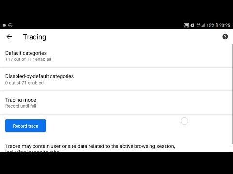 Hidden Secret Developer Options Menu In Chrome Settings On Mobile Phone