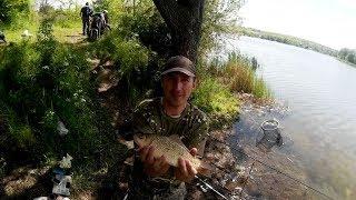 Рыбалка в Осокоровке на карася 2017