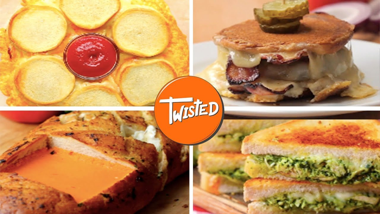 Epic Grilled Cheeses 10 Ways | Twisted