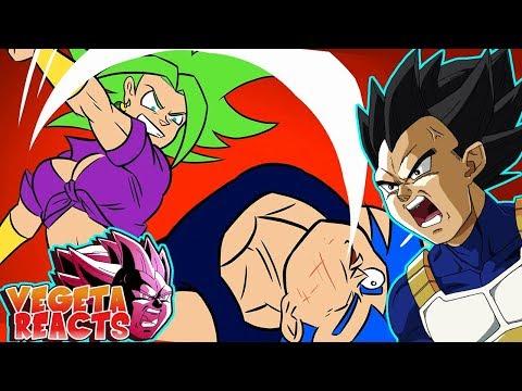 Vegeta Reacts To VEGETA VS KEFLA, Dragon Ball Super
