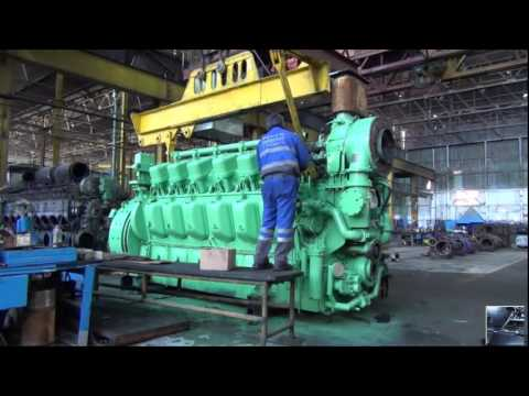 Diesel Trains   How Diesel Locomotives Work?   locomotive engine production