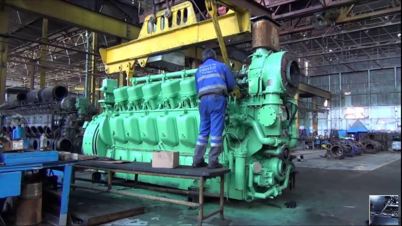 diesel trains how diesel locomotives work locomotive engine production youtube [ 1280 x 720 Pixel ]