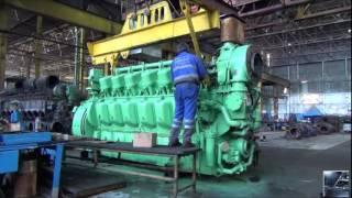 Diesel Trains | How Diesel Locomotives Work? | locomotive engine production