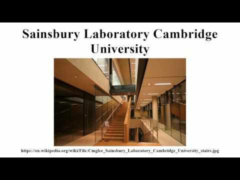 Sainsbury Laboratory Cambridge University