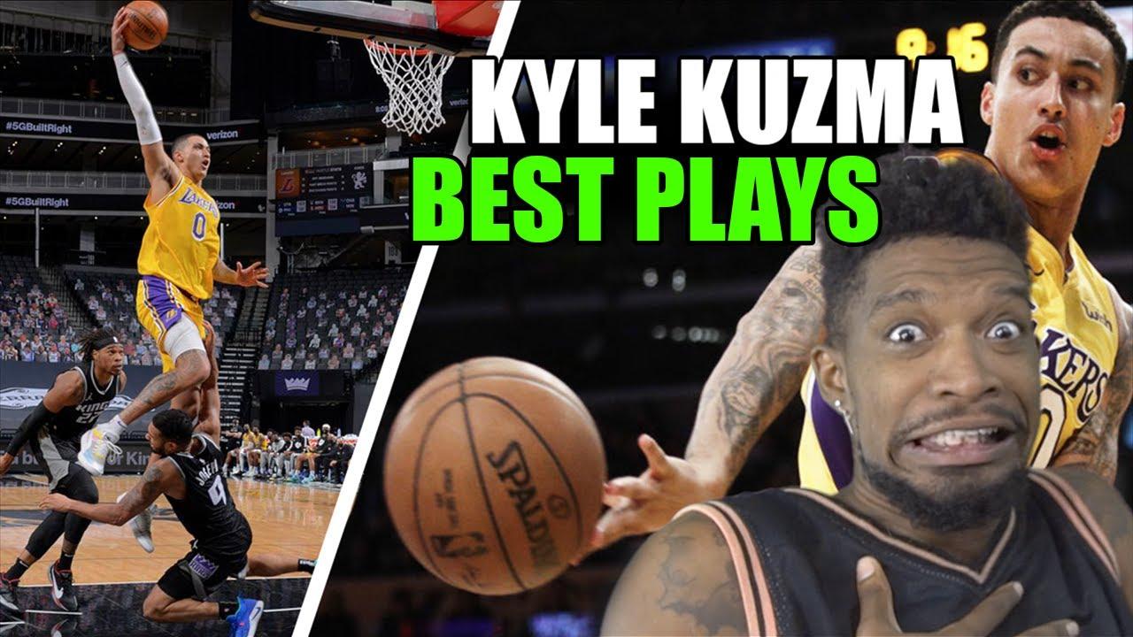 Kyle Kuzma BEST HIGHLIGHTS on Lakers!