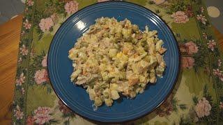 """Салат """"Оливье с курицей"""". Классический рецепт с фото и видео пошагово."""