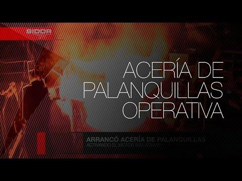 SIDOR ENCIENDE ACERÍA DE PALANQUILLAS.