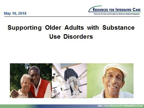 Supporting Older Adults With Substance Use Disorders