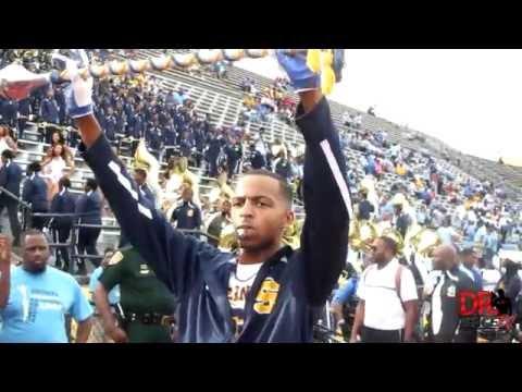 Southern University Human Jukebox Stadium Entrance vs Alabama State (2016)