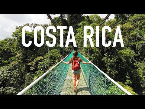 TRAVEL MOVIE | Jungle-vibes in Costa Rica! • Central-America