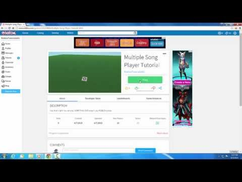 Roblox How To Add Multiple Songs To Your Game Roblox How To Add Multiple Sounds To Your Places Games Youtube