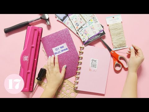How to Make a DIY Bullet Journal | Plan With Me